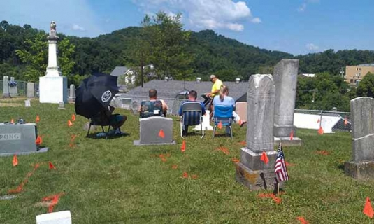 locating unmarked graves with GPR
