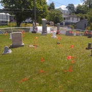 using GPR to locate unmarked graves