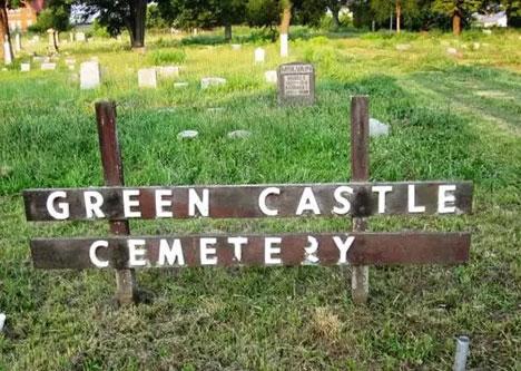Green Castle Cemetery in Dayton, Ohio