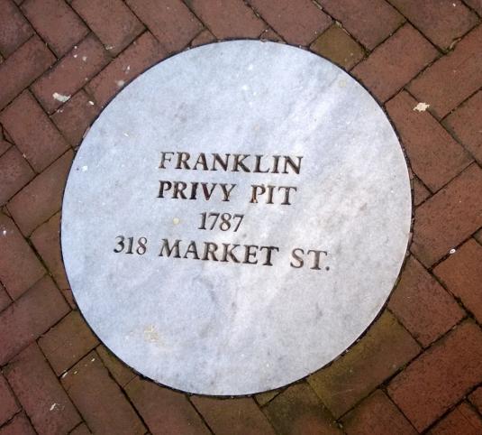 Benjamin Franklin's Privy Pit in Philadelphia