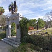 Colonial Park Cemetery Entrance in Savannah, GA