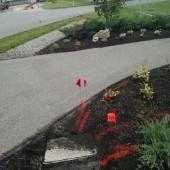 utility line markings